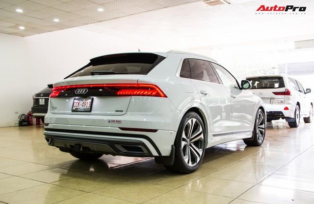 Audi Q8 2019 đầu tiên tại Việt Nam về tay đại gia Hà Thành sau 2 tháng nằm chờ tại showroom - Ảnh 2.