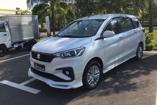 Đại lý mở đặt cọc Suzuki Ertiga 2019 với 2 phiên bản, giá dưới 500 triệu đồng - Áp lực lên Mitsubishi Xpander - Ảnh 1.
