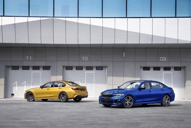 BMW 3-Series sắp ra mắt bản kéo dài cho ông chủ ngồi sau - Ảnh 1.