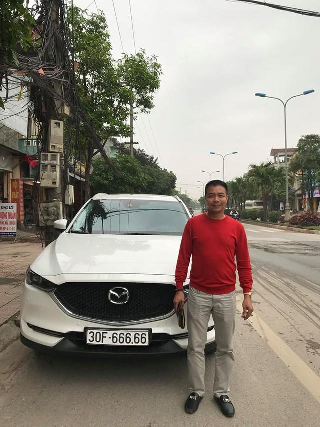 Bàn tay vàng trong làng bốc biển: Chủ xe Mazda CX-5 bấm được biển ngũ quý 6 tại Hà Nội - Ảnh 3.