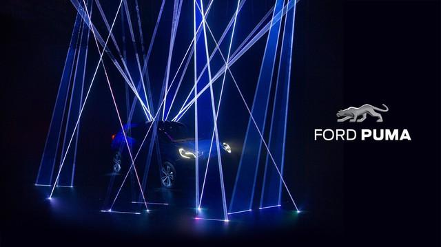 Ford Puma - SUV cỡ nhỏ hoàn toàn mới cạnh tranh Hyundai Kona