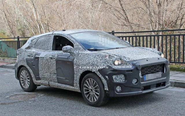 Ford Puma - SUV cỡ nhỏ hoàn toàn mới cạnh tranh Hyundai Kona - Ảnh 1.