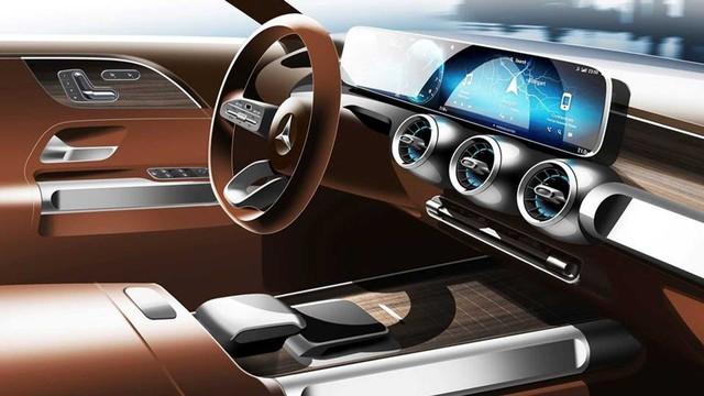 Vuông như G-Class như đang là xu thế, Mercedes-Benz GLB tung teaser mới cho thấy điều đó - Ảnh 5.