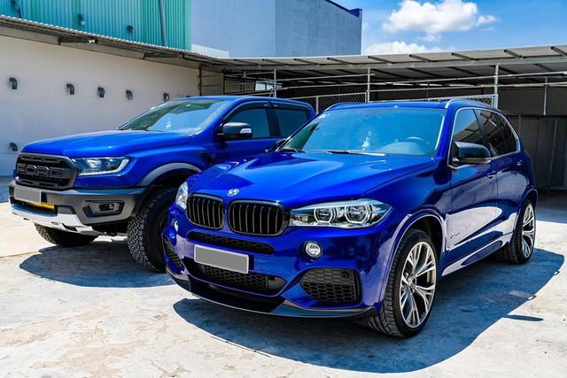 Dân chơi Bạc Liêu chi 1 tỷ đồng biến hóa BMW X5, ghép cặp với Ford Ranger Raptor - Ảnh 11.