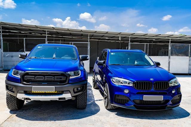 Dân chơi Bạc Liêu chi 1 tỷ đồng biến hóa BMW X5, ghép cặp với Ford Ranger Raptor - Ảnh 12.