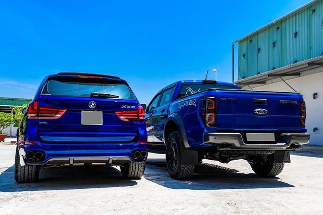 Dân chơi Bạc Liêu chi 1 tỷ đồng biến hóa BMW X5, ghép cặp với Ford Ranger Raptor - Ảnh 13.