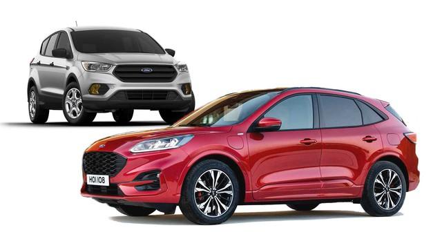 So sánh thiết kế Ford Escape 2020 với người tiền nhiệm: Đối lập hoàn toàn