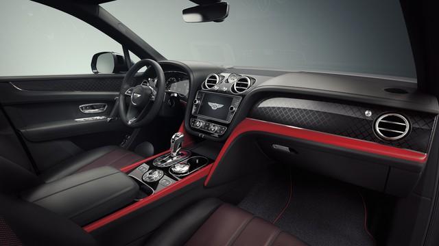 Bentley Bentayga V8 'Design Series' - Đỉnh cao thiết kế SUV siêu sang, có cả đồng hồ nạm kim cương - Ảnh 4.