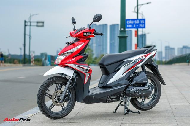 Chi tiết Honda BeAT 110 - kiểu dáng nam tính, nhập khẩu Indonesia, giá khoảng 35 triệu đồng - Ảnh 1.