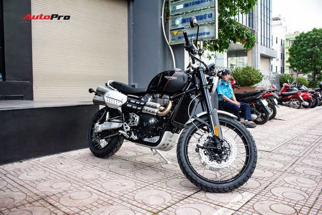Triumph Scrambler ra mắt tại Việt Nam giá từ 599 triệu đồng, đối thủ đáng gờm của Ducati Scrambler 1200 - Ảnh 1.