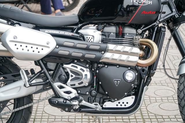 Triumph Scrambler ra mắt tại Việt Nam giá từ 599 triệu đồng, đối thủ đáng gờm của Ducati Scrambler 1200 - Ảnh 3.