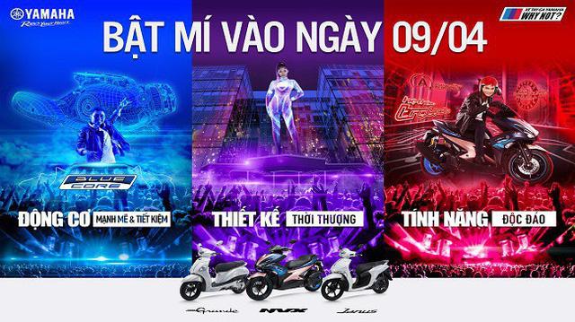 """Ngày mai 9/4, """"siêu bất ngờ"""" của Yamaha sẽ được hé lộ!"""