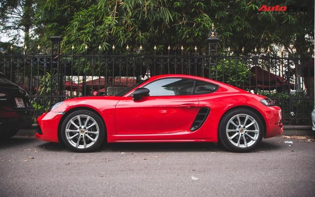 Đại gia Hà Nội chi cả chục triệu đồng chỉ để thay đổi một chi tiết nhỏ trên Porsche 718 Cayman mà ít ai ngờ tới - Ảnh 2.
