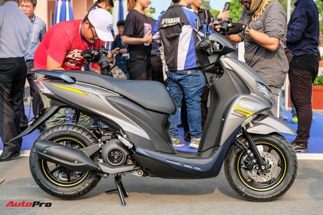 Chi tiết Yamaha FreeGo giá từ 32,9 triệu đồng - Đối thủ mới khiến Honda Air Blade phải dè chừng - Ảnh 3.