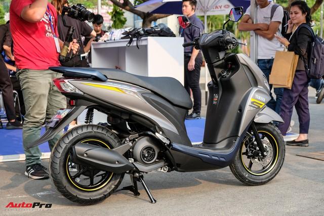 Chi tiết Yamaha FreeGo giá từ 32,9 triệu đồng - Đối thủ mới khiến Honda Air Blade phải dè chừng - Ảnh 11.
