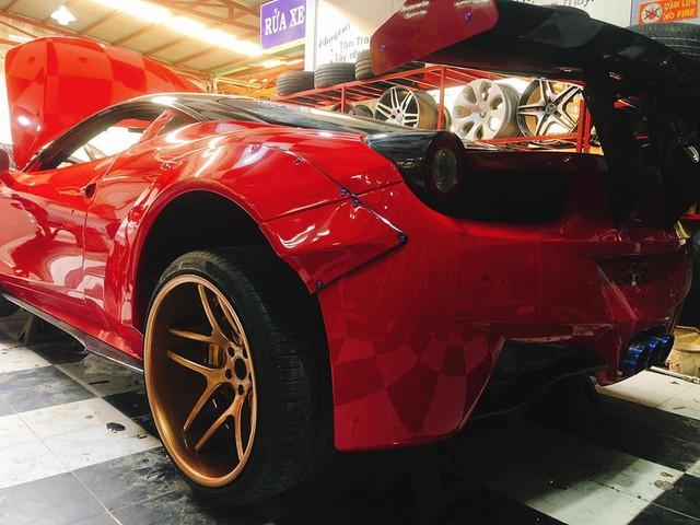 Ferrari 458 Italia độ độc nhất Việt Nam được lột xác thêm lần nữa khi về tay chủ mới - Ảnh 1.