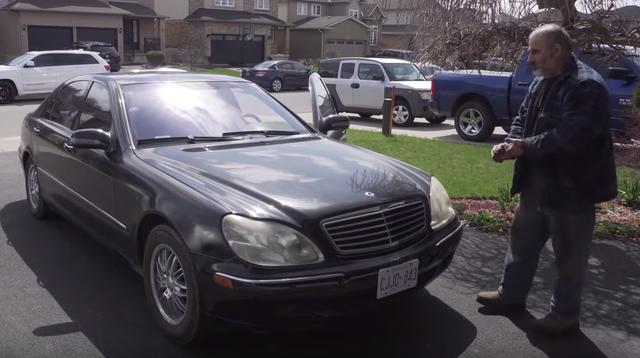 Người đàn ông may mắn mua được Mercedes-Benz S-Class với giá bằng nửa chiếc iPhone - Ảnh 1.