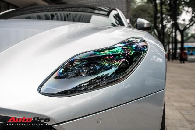 Aston Martin DB11 V8 của đại gia Vũng Tàu ra biển số gánh, tái xuất với diện mạo mới - Ảnh 5.