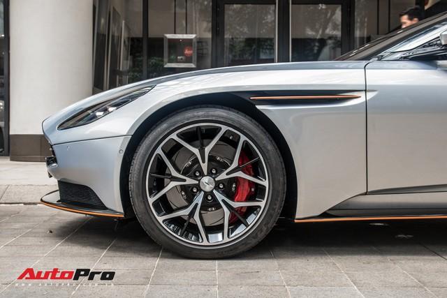 Aston Martin DB11 V8 của đại gia Vũng Tàu ra biển số gánh, tái xuất với diện mạo mới - Ảnh 7.