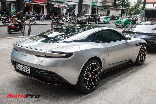 Aston Martin DB11 V8 của đại gia Vũng Tàu ra biển số gánh, tái xuất với diện mạo mới - Ảnh 6.