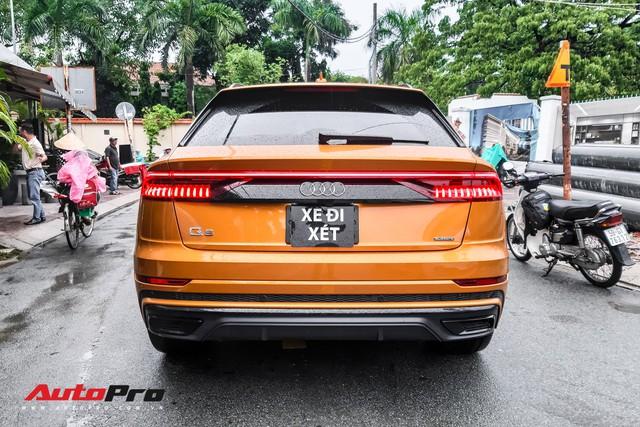 Audi Q8 của đại gia trẻ tuổi, khét tiếng tại Việt Nam chính thức lăn bánh ngoài phố - Ảnh 2.