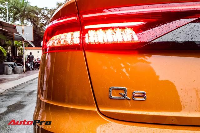 Audi Q8 của đại gia trẻ tuổi, khét tiếng tại Việt Nam chính thức lăn bánh ngoài phố - Ảnh 4.
