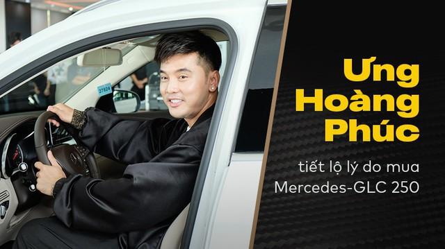 Ca sĩ Ưng Hoàng Phúc mua Mercedes-Benz GLC 250 4Matic và tiết lộ lý do đầy bất ngờ