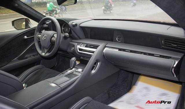 Hàng hiếm Lexus LC500h bí ẩn nhất Việt Nam được tóm gọn ở Hải Phòng - Ảnh 4.