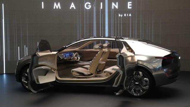 Kia bật đèn xanh cho Imagine Concept - SUV lai coupe đầu tiên tiệm cận hạng sang - Ảnh 2.