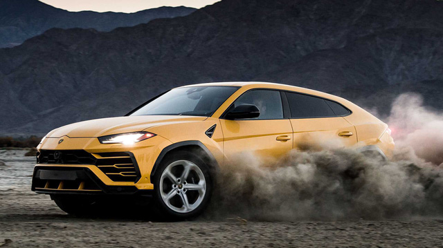 'Siêu bò' Lamborghini Urus chuẩn bị có bản hiệu suất cao Performante