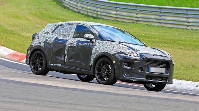 Ford Puma chính thức chạy thử - SUV đàn em của EcoSport