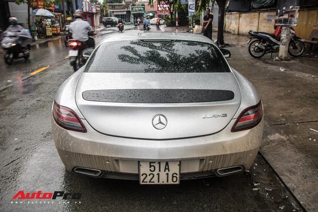 Tóm gọn Mercedes-Benz SLS AMG của ông Đặng Lê Nguyên Vũ khi trên đường về nhà riêng từ Đắk Lắk - Ảnh 9.