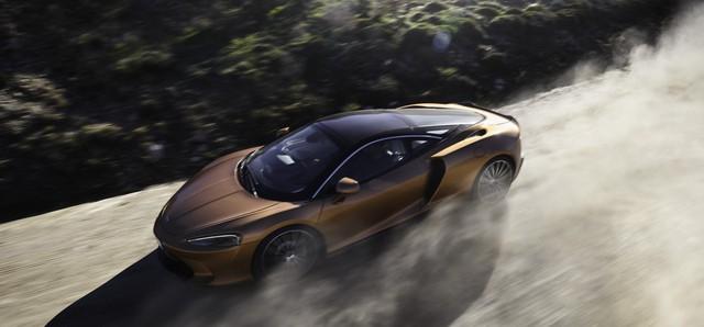Ra mắt McLaren GT: Siêu xe thực dụng 612 mã lực, giá 210.000 USD - Ảnh 1.