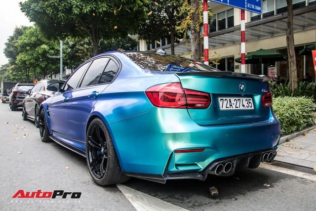 Đổi chủ, BMW M3 từng của đại gia chơi siêu xe Vũng Tàu chơi lớn bằng cách đổi màu độc đáo - Ảnh 4.