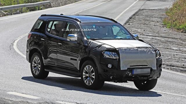 Chevrolet Trailblazer bản nâng cấp chạy thử, có thể về Việt Nam trong tương lai