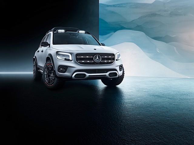 Mercedes-Benz GLB-Class sẽ được trình làng tại triển lãm Frankfurt Motor Show 2019 - Ảnh 1.