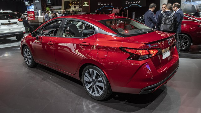 Ảnh thực tế Nissan Sunny thế hệ mới sắp về Việt Nam - Cạnh tranh Toyota Vios nhưng Hyundai Accent phải dè chừng - Ảnh 9.
