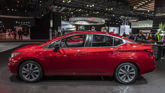 Ảnh thực tế Nissan Sunny thế hệ mới sắp về Việt Nam - Cạnh tranh Toyota Vios nhưng Hyundai Accent phải dè chừng - Ảnh 5.