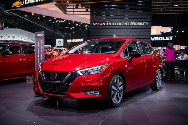 Ảnh thực tế Nissan Sunny thế hệ mới sắp về Việt Nam - Cạnh tranh Toyota Vios nhưng Hyundai Accent phải dè chừng - Ảnh 1.