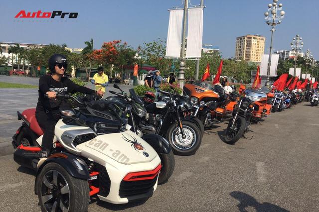 Dân chơi ô tô, mô tô khủng và độc tại Nghệ An đổ ra đường dịp sinh nhật Bác - Ảnh 4.
