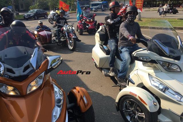 Dân chơi ô tô, mô tô khủng và độc tại Nghệ An đổ ra đường dịp sinh nhật Bác - Ảnh 5.