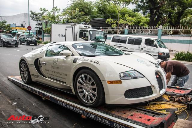 Tóm gọn Bugatti Veyron 16.4 của ông Đặng Lê Nguyên Vũ đi đăng kiểm - Ảnh 4.
