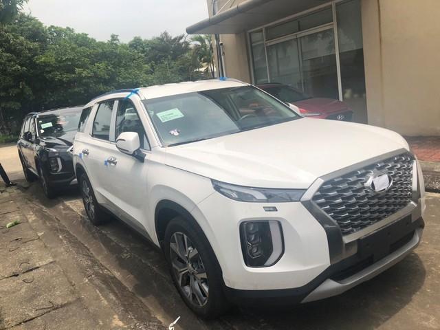 Hyundai Palisade nhập khẩu Hàn Quốc tiếp tục đổ bộ tới Việt Nam, thêm màu sơn trắng - Ảnh 3.