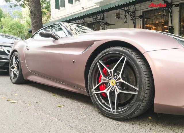 Dân chơi đồng hồ khét tiếng Hà Nội mạnh tay chi tiền sơn lại Ferrari California T màu độc - Ảnh 5.