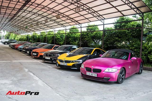 Dàn siêu xe, xe thể thao, siêu sang đủ sắc màu hội tụ tại sinh nhật CLB mô tô phân khối lớn - Ảnh 1.