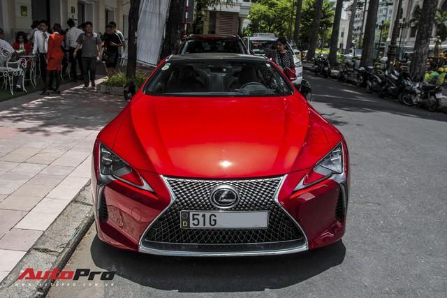 Lexus LC500 độc nhất Việt Nam chia tay Hà Nội, về tay đại gia Sài Gòn - Ảnh 2.
