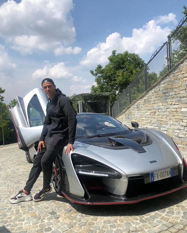 Cristiano Ronaldo chi 1 triệu USD mua siêu xe McLaren Senna hàng hiếm - Ảnh 1.