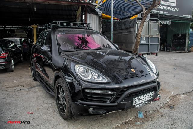 Ông Đặng Lê Nguyên Vũ mạnh tay phá thêm Porsche Cayenne nhưng có 1 chi tiết gây chú ý - Ảnh 1.