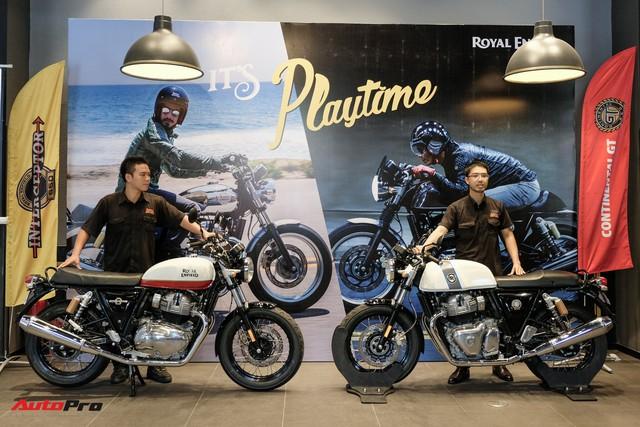 Royal Enfield giới thiệu cặp đôi mô tô cổ điển giá rẻ tại Sài Gòn, giá từ 173 triệu, đã có 14 khách đặt mua - Ảnh 1.
