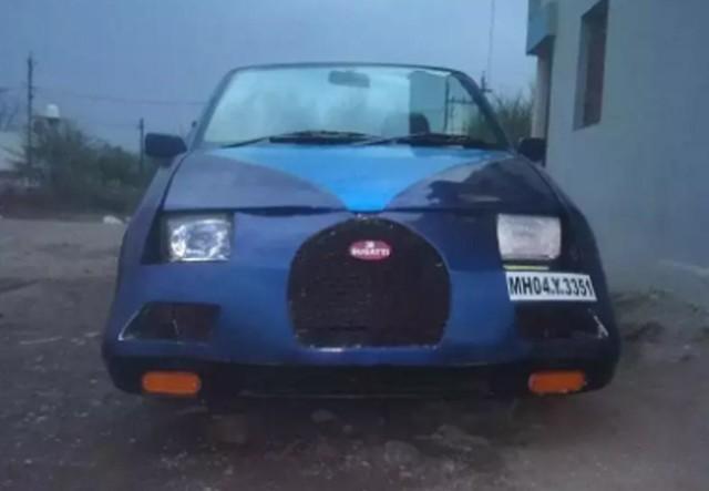 Bugatti Veyron mui trần Made in Ấn Độ làm người xem phì cười - Ảnh 4.